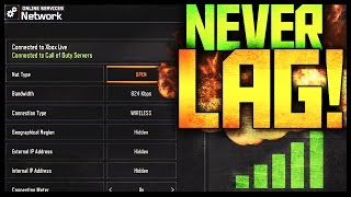 "How to ""STOP LAG in Black Ops 3"" MULTIPLAYER - LAG FIX! (Best connection on Xbox Live!)::"