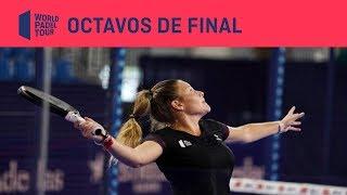 Resumen Octavos de Final Santander WOpen (primer turno)