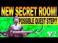 Destiny 2 | NEW SECRET ROOM! Black Armory Quest Step, Possible Secrets Forge Loot!?