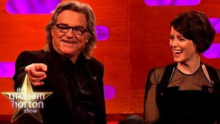 Kurt Russell Talks About His Suggestive Snake Tattoo | The Graham Norton Show