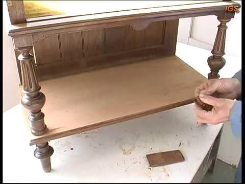 Como restaurar un mueble antiguo estilo alfonsino primera for Como restaurar un mueble antiguo