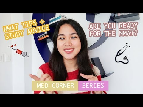 NMAT TIPS! + preparation & study advice (Philippines) | Ian Sta Maria