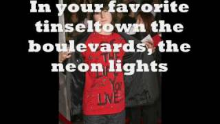 mitchell musso welcome to hollywood (HQ) with lyrics
