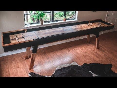 Making a Live-Edge Shuffle Board Table!