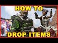 Apex Legends: How to Drop Items