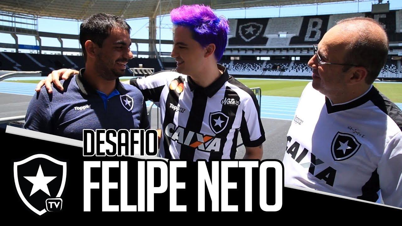 Felipe Neto lança patrocínio e desafia a Botafogo TV - YouTube 3d2f5be29fb44