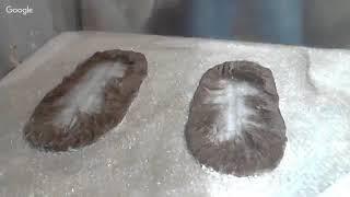 Валяние тапочек из шерсти