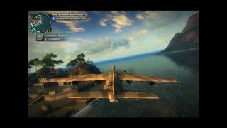 Just Cause 2 - Taking an Army Plane[FULL HD]
