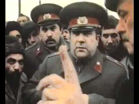Азербайджанцы против Армян В Баку