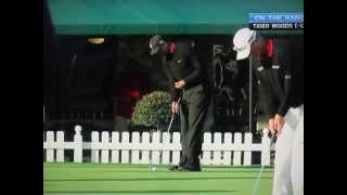 Tiger Woods - Putting Drill (Right Hand Only)