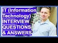 IT (INFORMATION TECHNOLOGY) Interview Questions And Answers!