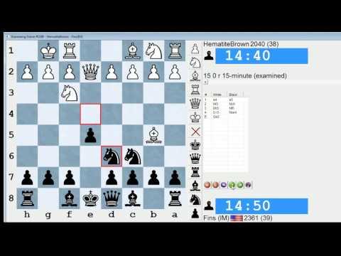 Standard Chess #47: HematiteBrown vs. IM Bartholomew (Ruy Lopez)