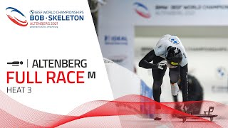 Altenberg | BMW IBSF World Championships 2021 - Men's Skeleton Heat 3 | IBSF Official