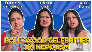 Interview With Bollywood Celebrities on Nepotism // Roast // Captain Nick
