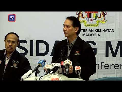[LIVE] Sidang media Ketua Pengarah Kesihatan berhubung perkembangan terkini di Malaysia.