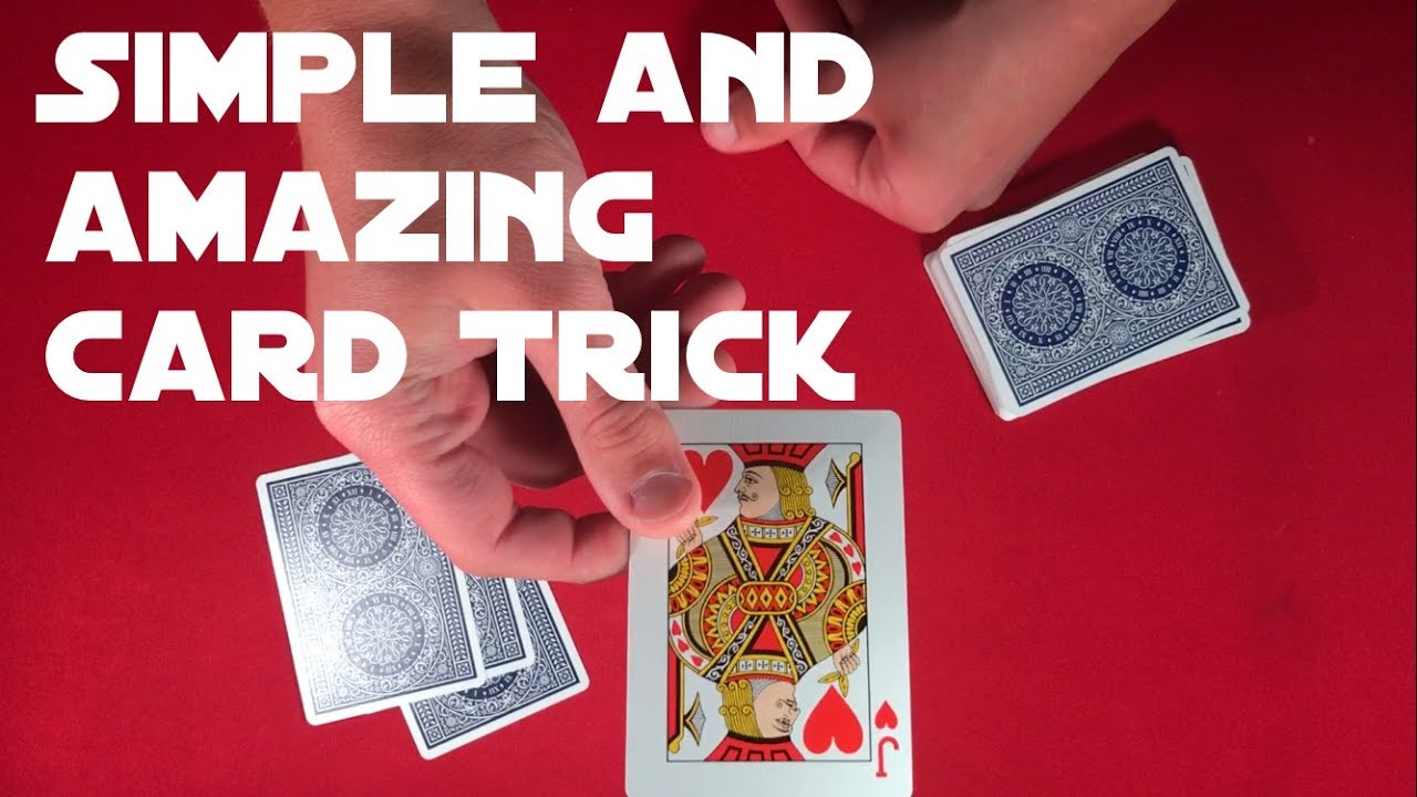 Another Simple and Effective Card Trick!