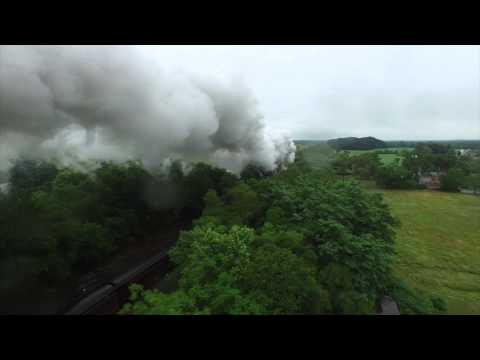 Norfolk and Western 611 Steam Locomotive