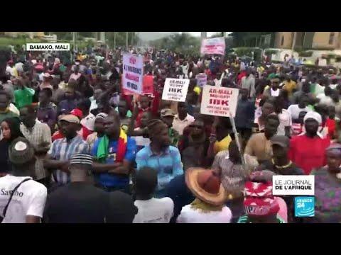 Nouveau rassemblement au Mali pour réclamer la démission du président Ibrahim Boubacar Keïta