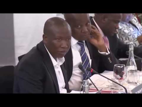 JULIUS MALEMA takes on Advocate P Zietsman SC for the Free State High Court Judges Matter