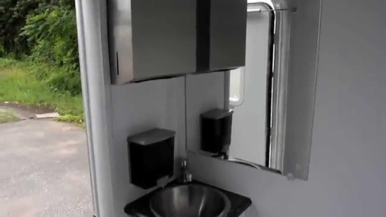 Shower Trailer | Portable Restrooms Trailer | 2 or 3 Station ...