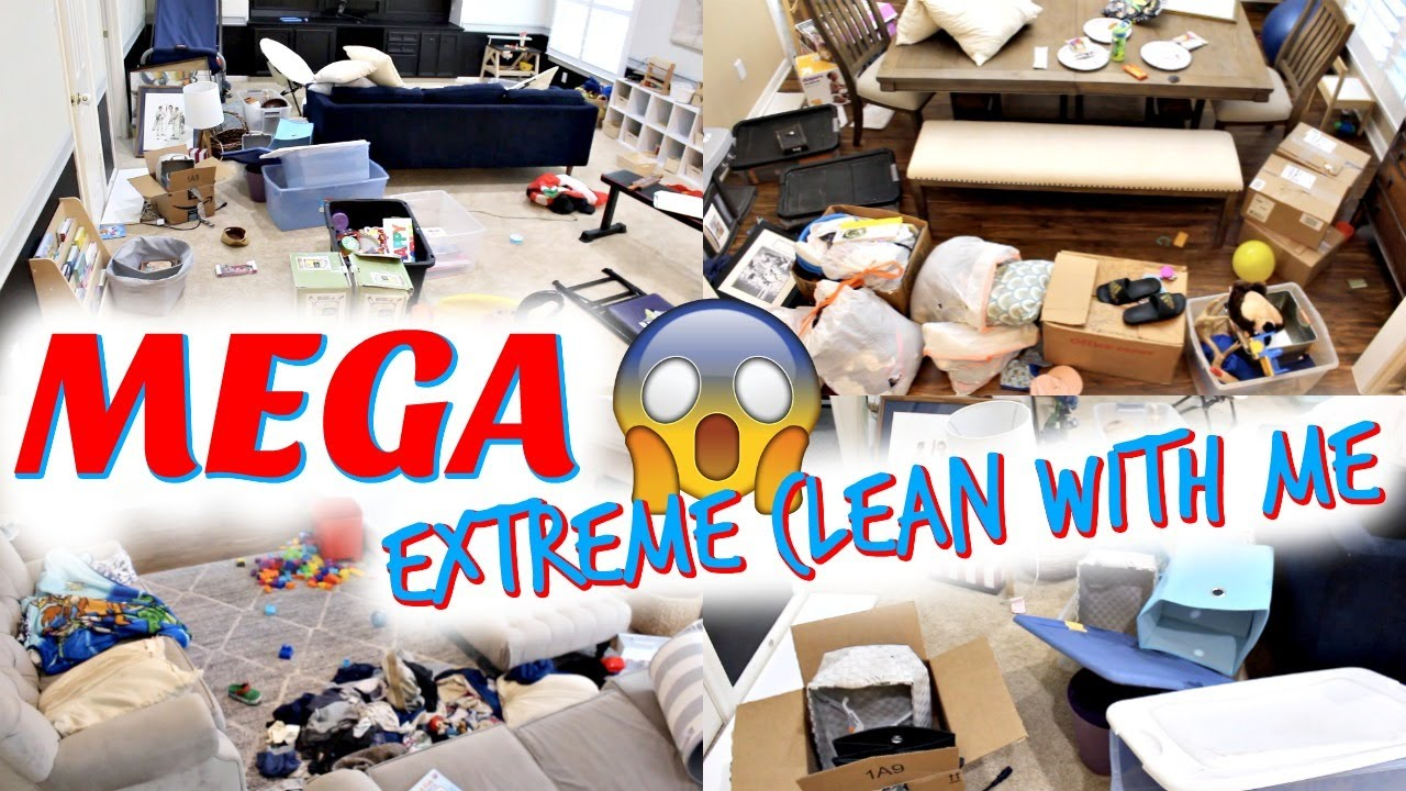 *MEGA* 2 DAY CLEAN WITH ME! CLEAN + ORGANIZE! EXTREME CLEANING MOTIVATION! 2020 SAHM