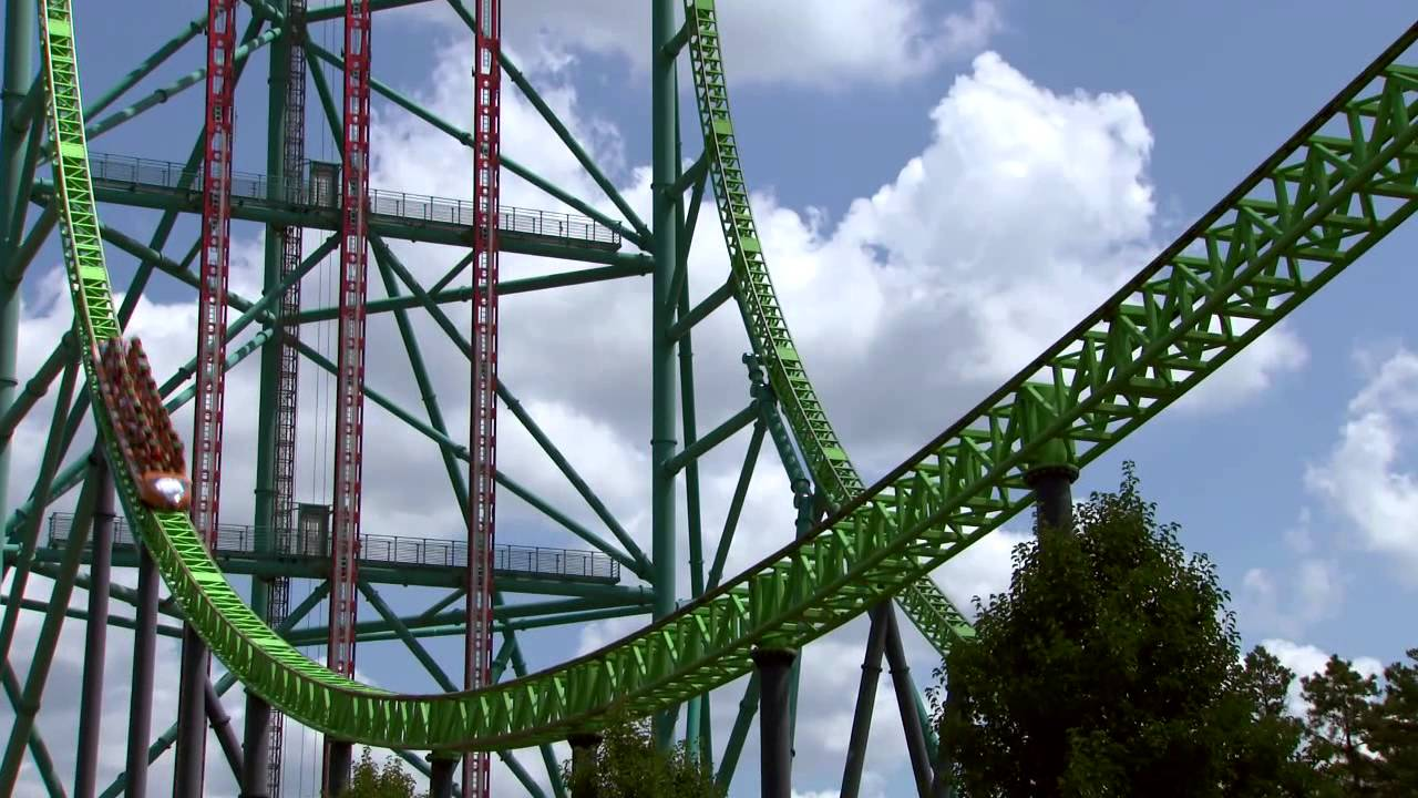 Fastest Roller Coaster In The World >> Official Kingda Ka On-Ride Video with Front Seat POV at Six Flags Great Adventure - YouTube