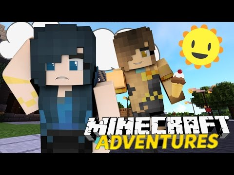 MY NEW NEIGHBOUR! | Minecraft Adventures - Treasure Island #1 /w ItsFunneh (Minecraft Roleplay)