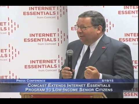 Comcast Extends Internet Essentials to Low-Income Senior Citizens in SF