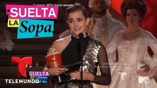 Emma Watson ganó como mejor actriz en los MTV Awards   Suelta La Sopa   Entretenimiento