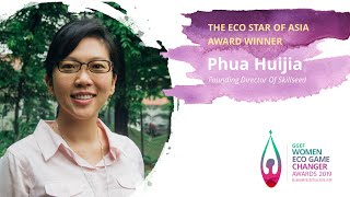 Phua Huijia, Founder of Skillseed - 2019 GGEF Eco Star of Asia Award Winner