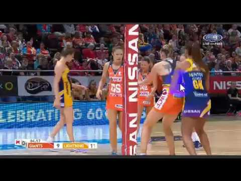 Suncorp Super Netball-GWS Giants W vs.Sunshine Coast Lightning W-AUSTRALIA-Round 14