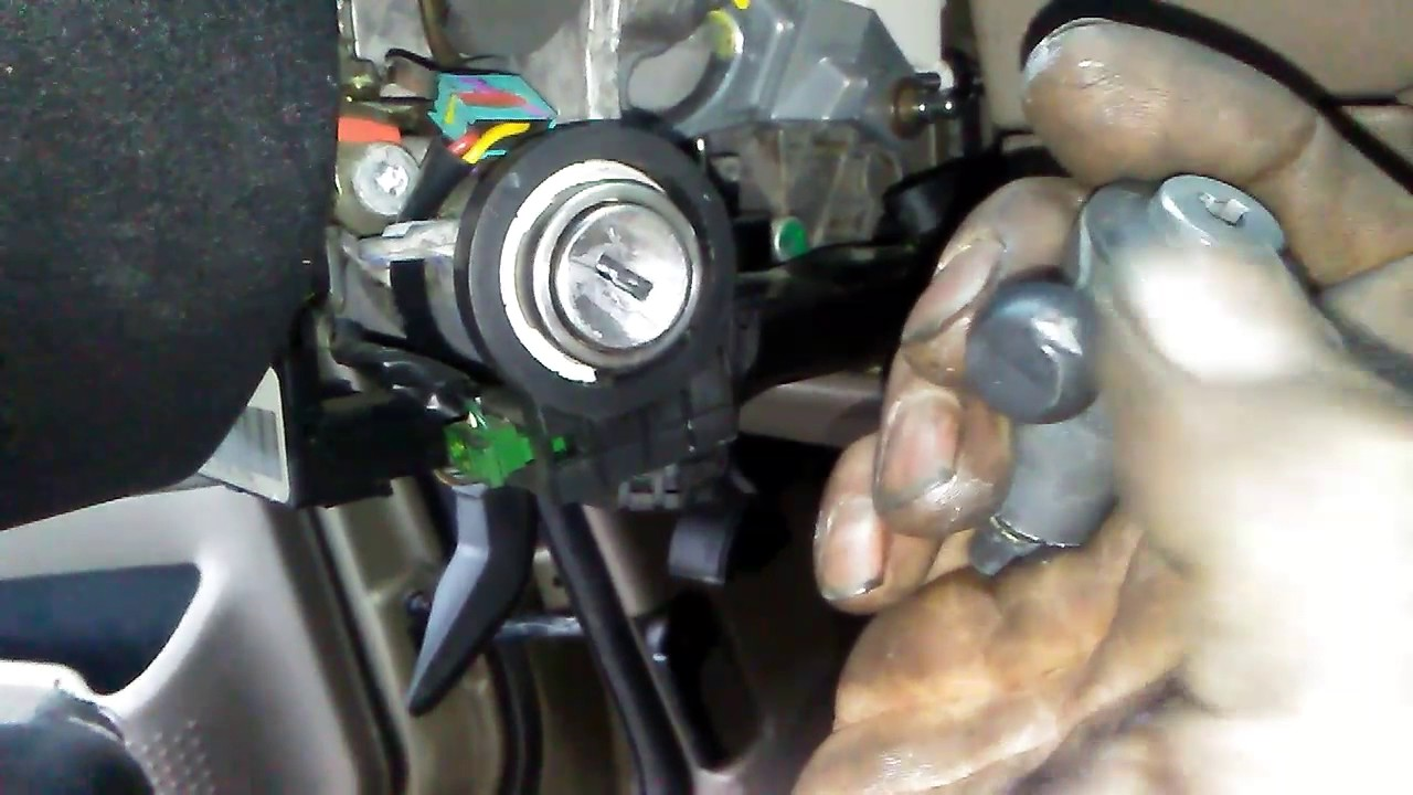 2002 Ford Explorer Broken Gear Shift Handle Off Column