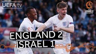 U17 highlights: England v Israel