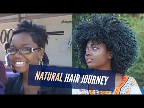 NATURAL HAIR JOURNEY | 5 Years | Aaliyah Sadé