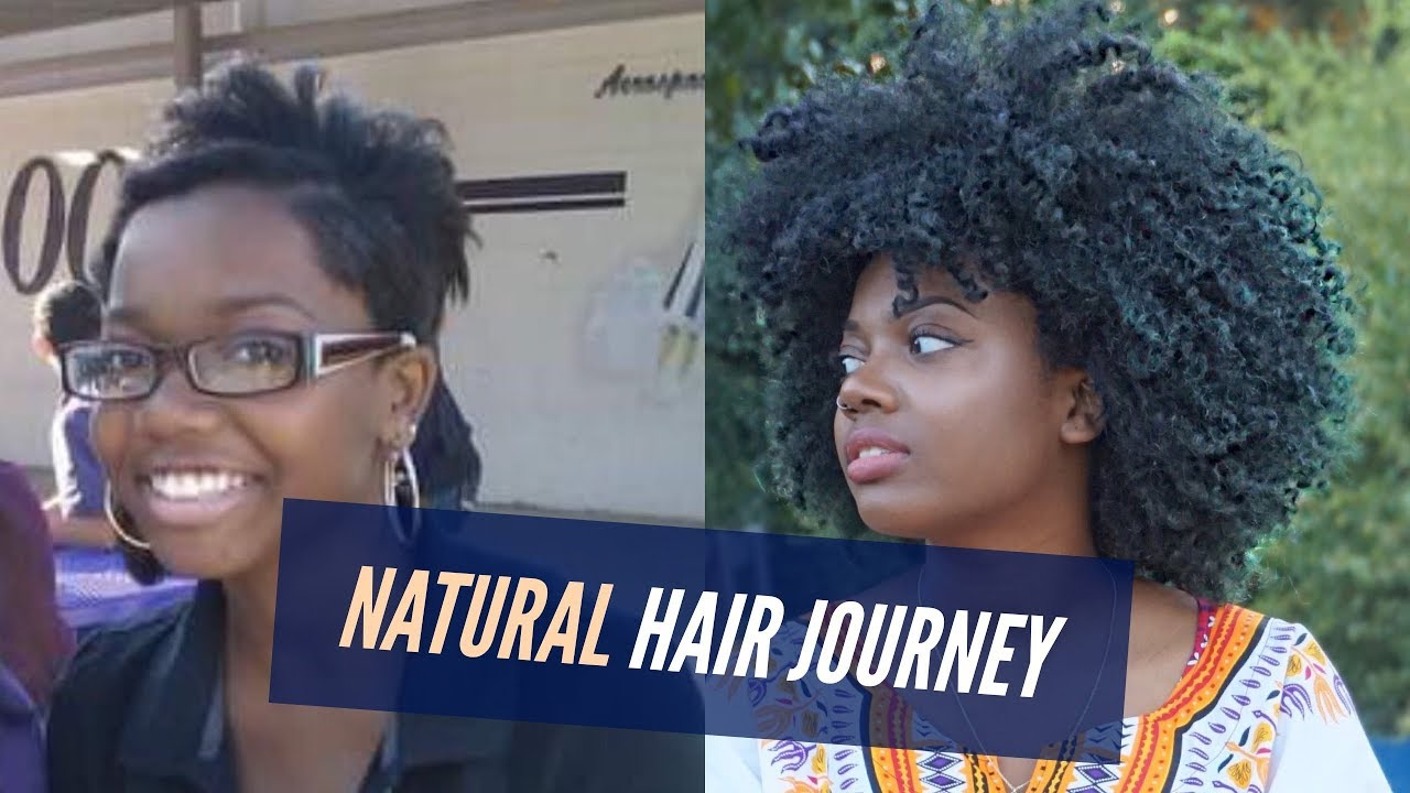 natural hair journey 5 years