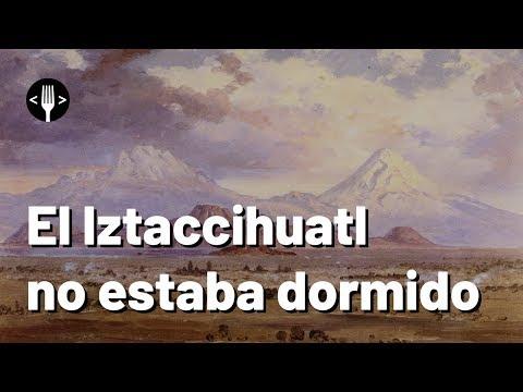 ¿De verdad hizo erupción el Iztaccíhuatl?