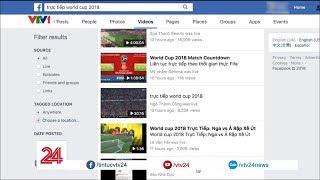 Tràn lan vi phạm bản quyền phát sóng World Cup - Tin Tức VTV24