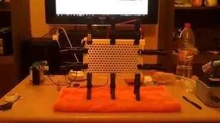 Electrostatic Loudspeaker DIY - First test