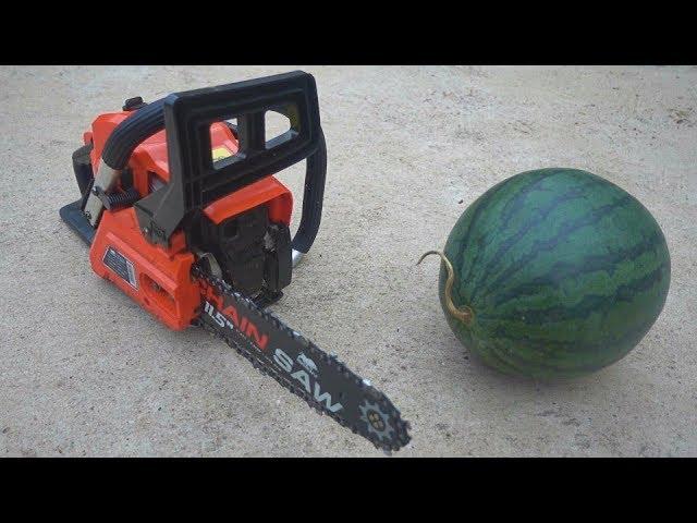 เลื่อย vs แตงโม