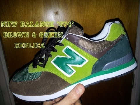 6adb82a7a44 //Aliexpress// **New Balance 574** Brown & Green