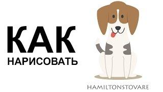 Собака карандашом. КАК поэтапно НАРИСОВАТЬ СОБАКУ(Как нарисовать собаку поэтапно карандашом для начинающих за короткий промежуток времени. http://youtu.be/ISnS8S-mZYk..., 2015-06-25T08:55:46.000Z)
