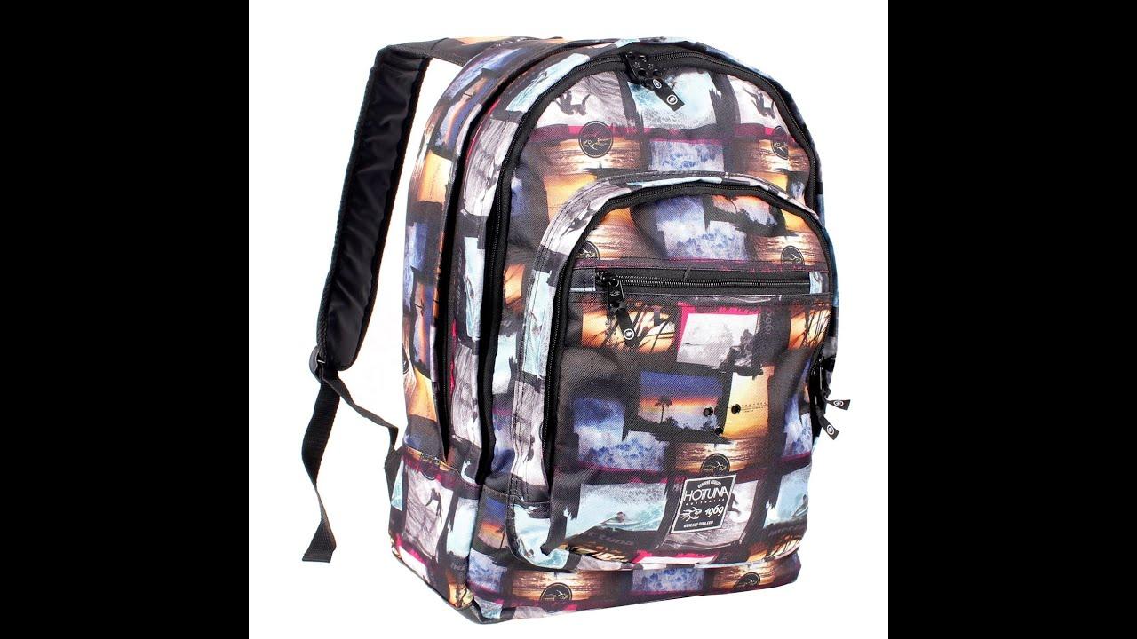 c1314691f425 Обзор рюкзак Hot Tuna Print Backpack