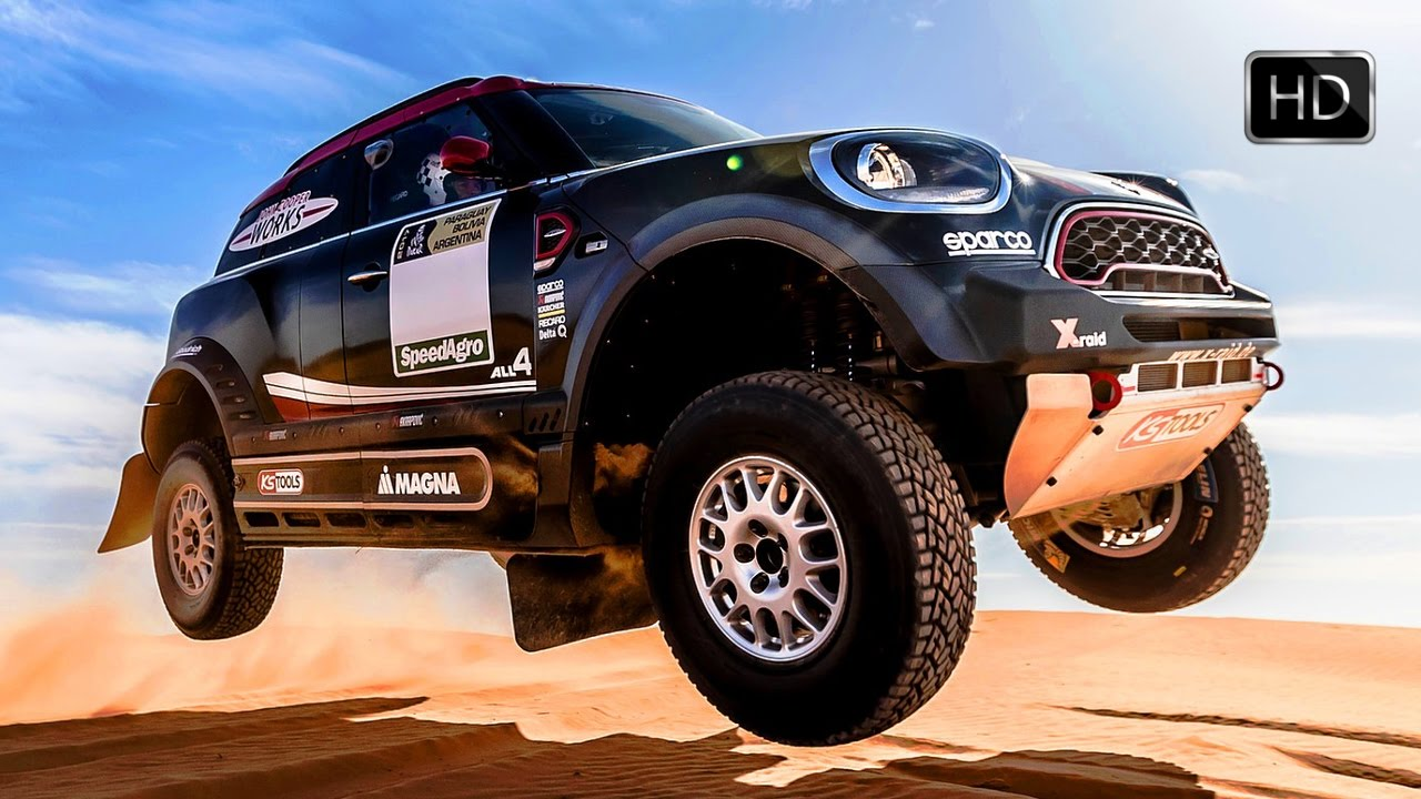 2017 Mini Countryman John Cooper Works Rally Extreme Desert Off Road Driving Hd