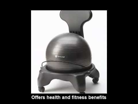 balance ball chair - Gaiam Ball Chair