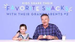 Kids Share Their Favorite Snack With Their Grandparents: Round 2 | Kids Try | HiHo Kids