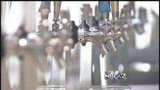 Self-Serve Beer Stations at Lambeau Field