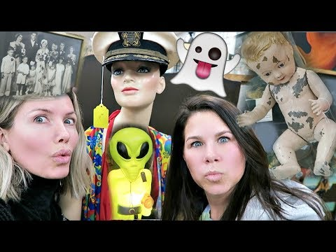 FINDING HAUNTED/CREEPY OBJECTS AT ANTIQUE STORES