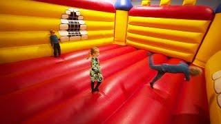 Indoor Playground Fun for Kids at Busfabriken Lekland (family fun)