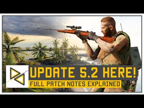 [BF5] BIG BFV Update - Patch 5.2 - Wake Island, Community Games & TTK Change!