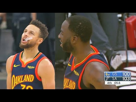 Stephen Curry CAN'T BELIEVE Draymond Green Cost Warriors Game With Half Court Shot vs Spurs!